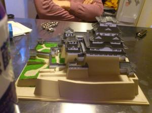 姫路城完成